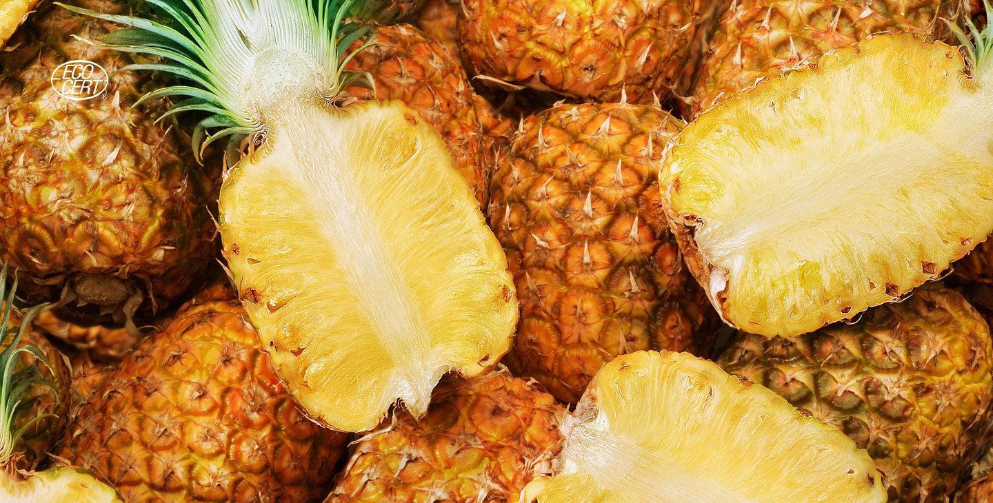 Pineapples that redefine the word juicy. Image: Pineapples